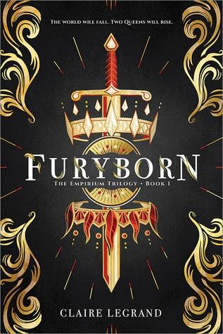 furyborn by claire legrand cover